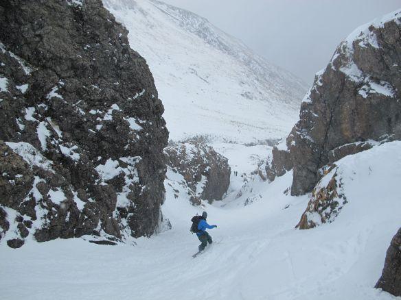 Me enjoying some fresh snow at Temple Basin Photo: Kyle Miller