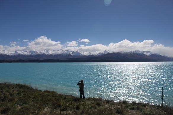Lake Pukaki and the Ben Ohau Range