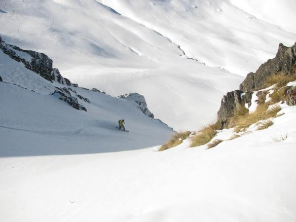 Kyle in the Couloir