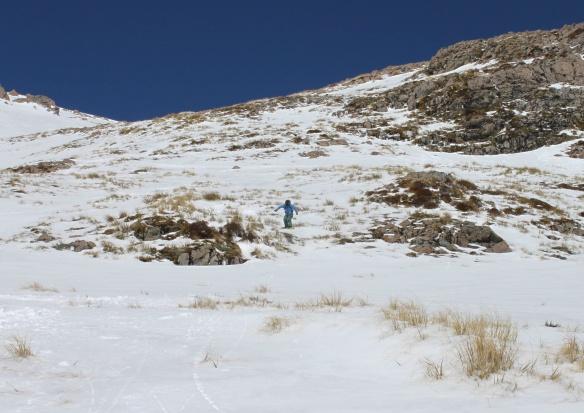 Me on the lower slopes of Cassidy Photo: Jaime Splatt